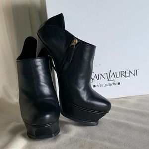 YSL tribubet 105 Ankle Booties